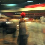 théâtre mouvement dans l'espace public