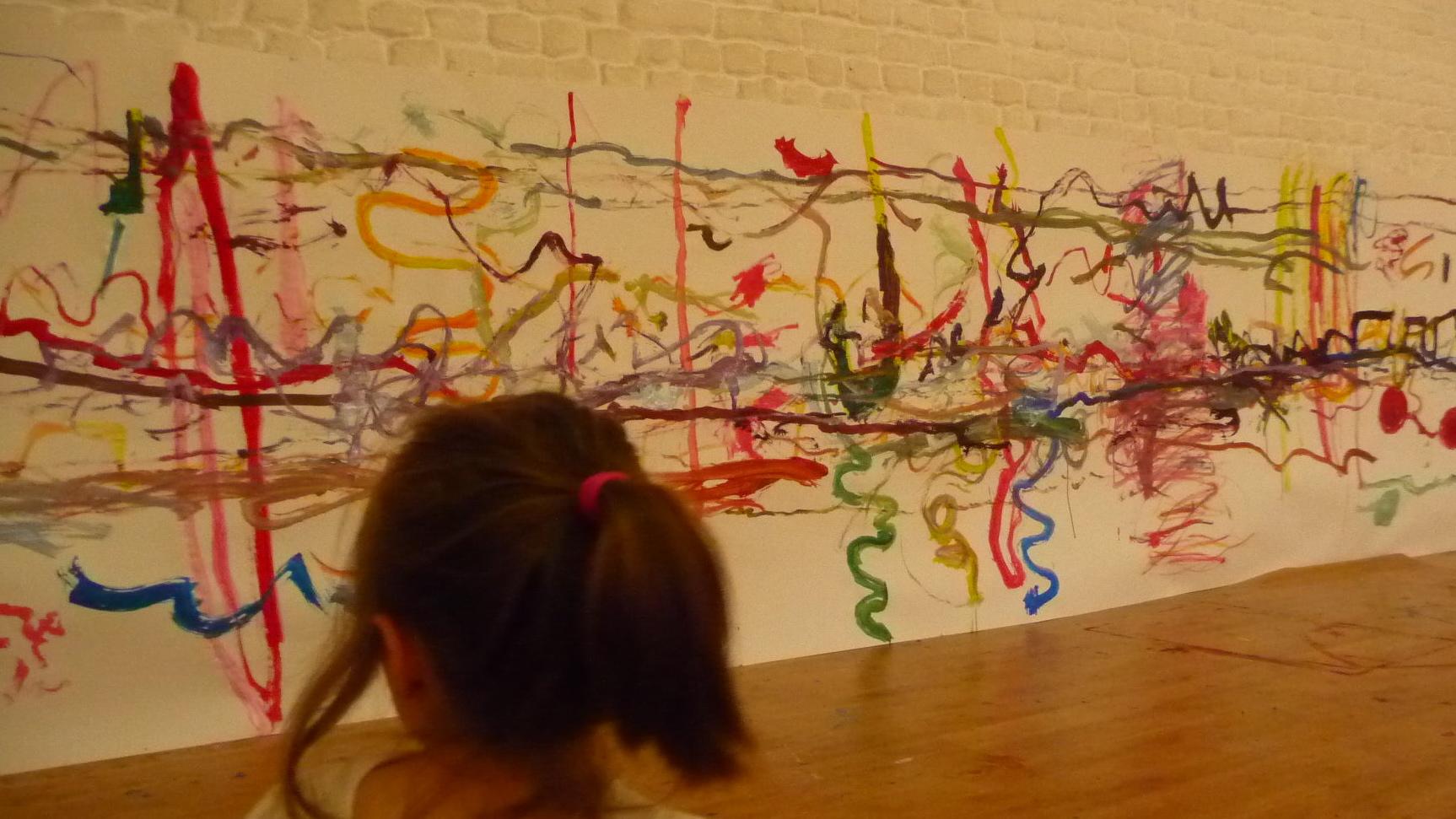 Stage pour enfants Les Mercredisss aacb-espai dessin expression corporelle Pierre et le loup à Bruxelles