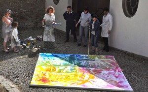 Peinture à La Villa Sauvage